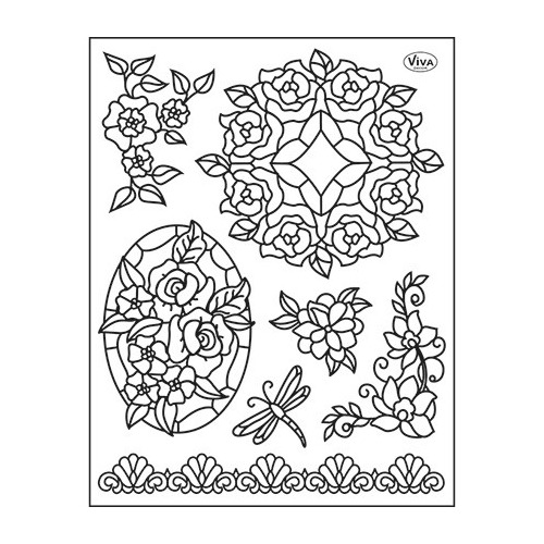 Clear Stamps Tiffany Dragonfly
