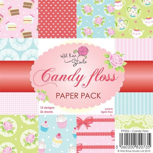 1 PK (1 PK) 6x6 Paper Pack Candy Floss a 36 VL