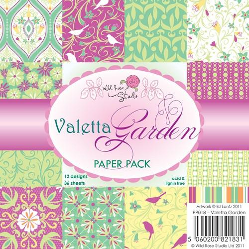 1 PK (1 PK) 6x6 Paper Pack Valetta Garden a 36 VL