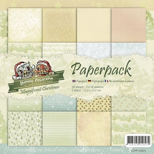 Paperpack - Yvonne Creations - Magnificent Christmas