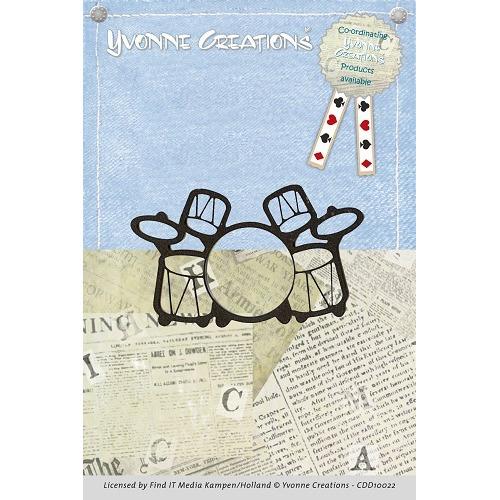 Yvonne Creations Men Die - Drum kit