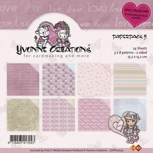Yvonne Creations - Paperpack - Valentine