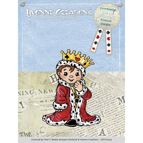 Stamps - Yvonne Creations - King