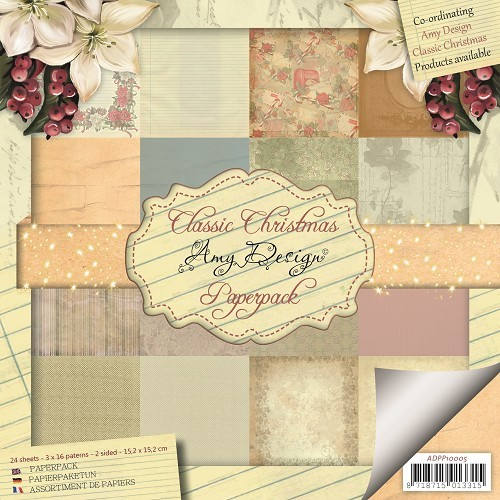Amy Design - Paperpack - Classic Christmas