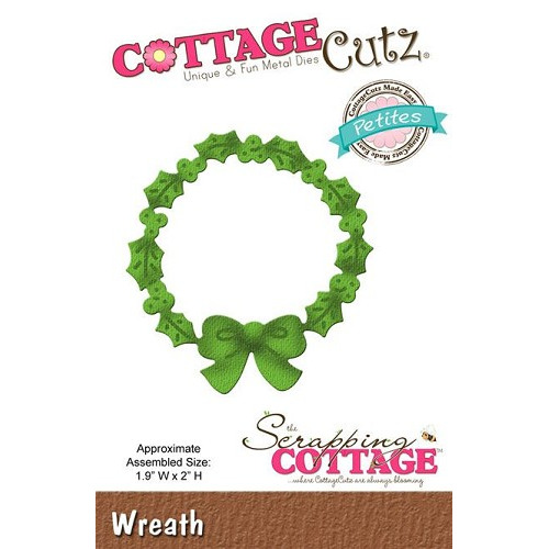 Scrapping Cottage CottageCutz Wreath (Petites)