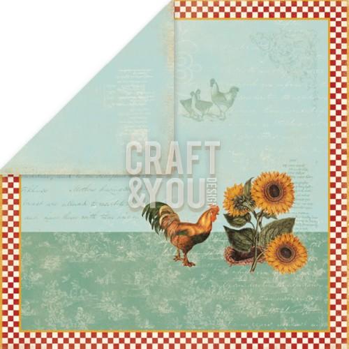 CP-MHG01 My Home Garden 01 Paper 12x12