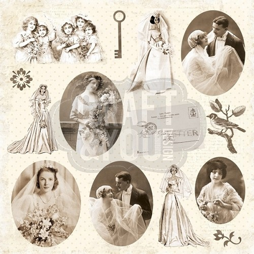 Craft & You Design - My wedding Paper