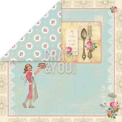 CP-MHG03 My Home Garden 03 Paper 12x12