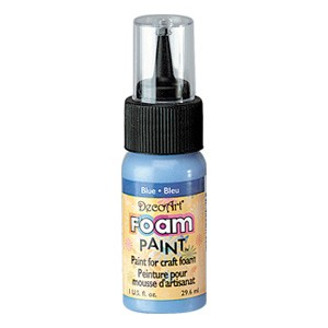 DecoArt Foam Paint Blue
