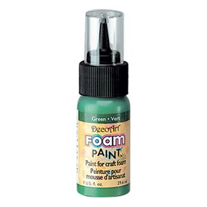 DecoArt Foam Paint Green