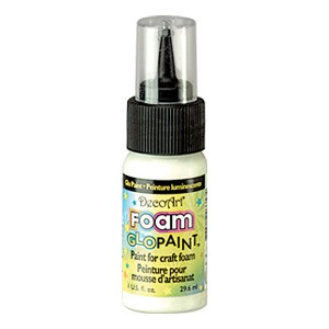 DecoArt Foam Paint Glo in the Dark
