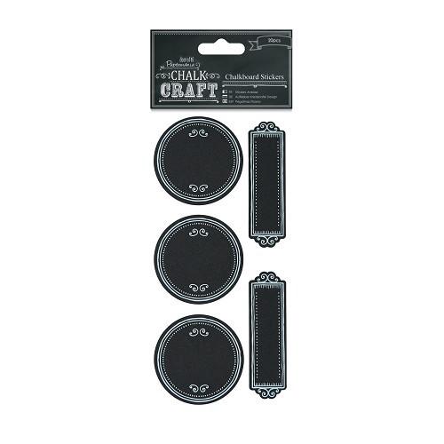 Chalkboard Stickers (20pcs) - Dotty Frames