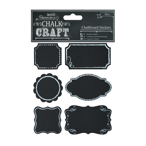 Chalkboard Stickers (24pcs) - Frames