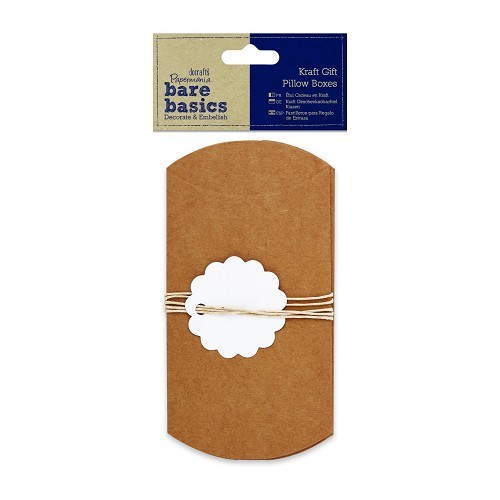 Kraft Gift Pillow Boxes