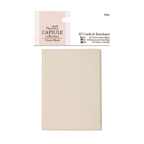 A7 Cards & Envelopes (20pk) - Capsule Collection - Oyster Blush