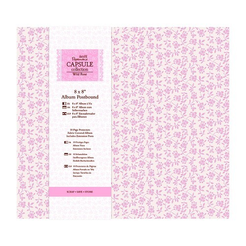8 x 8 Album Postbound (10 Page Protectors) - Capsule Collection
