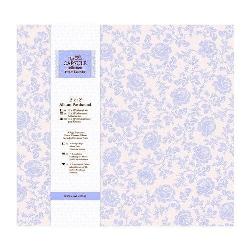 12 x 12 Album Postbound (10 Page Protectors) - Capsule Collectio