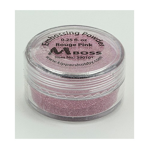 Embossing powder - Rouge Pink