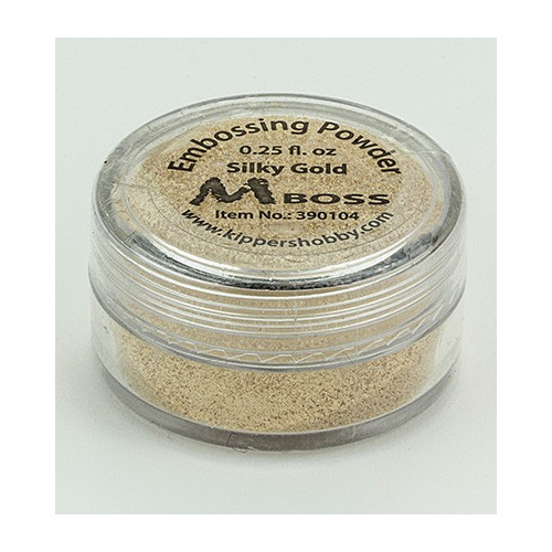 Embossing powder - Silky Gold