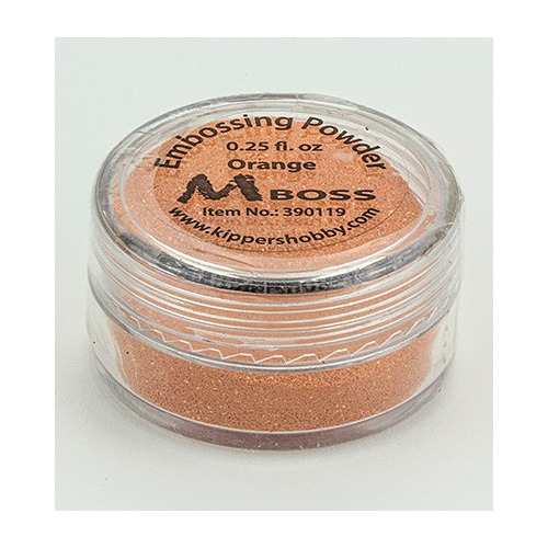 Embossing powder - Orange