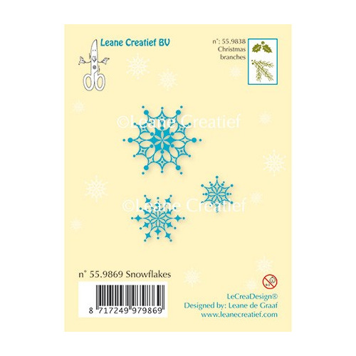 Clear Stamp - Snow flakes