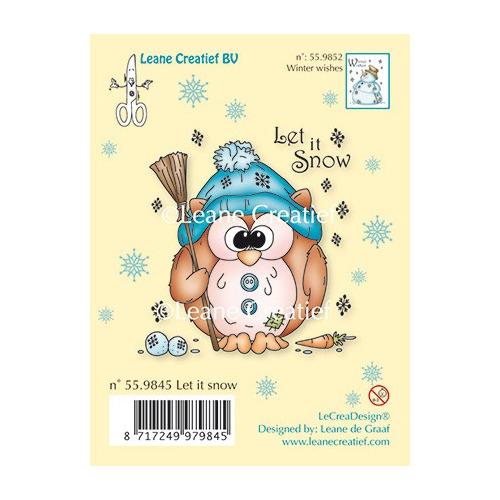 Clear Stamp - Owlie Let it snow