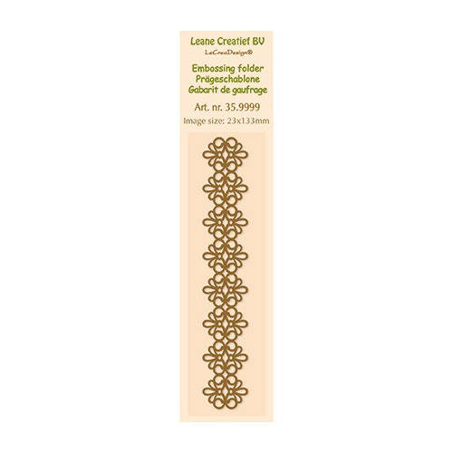 Border Embossing - Lace