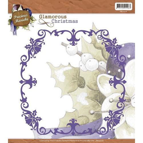 Precious Marieke - Glamorous Christmas - Christmas Frame