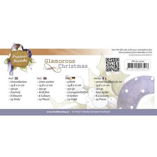 Linnenpakket - A5 - Precious Marieke - Glamorous Christmas