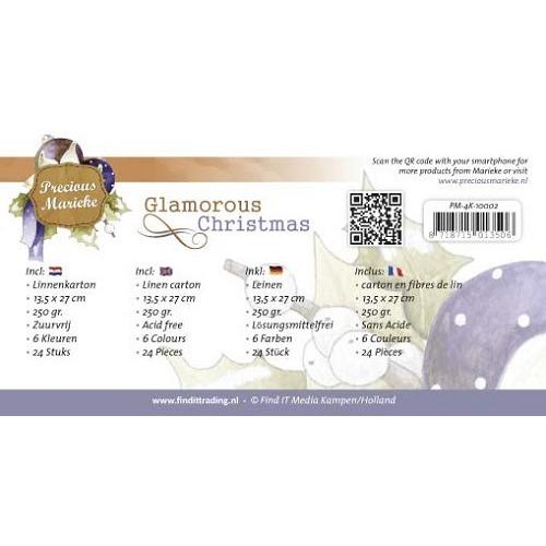 Linnenpakket - 4K - Precious Marieke - Glamorous Christmas