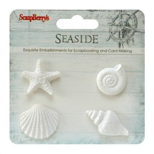 ScrapBerry`s Set Of Polymer Items Sea 3 (SCB26001016)