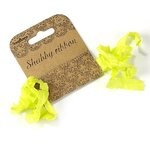 shabby ribbon - lime