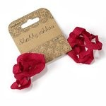 shabby ribbon - red