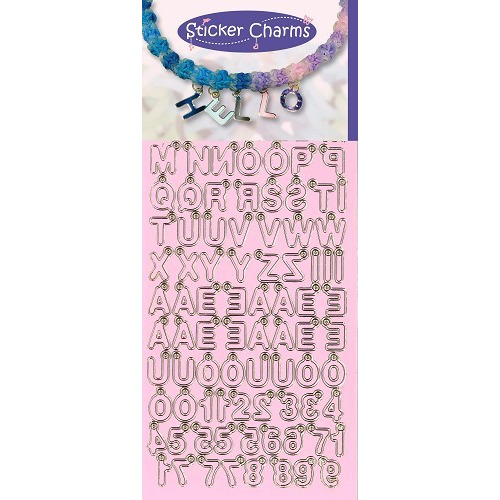 Sticker Charms - ABC-123 Candy