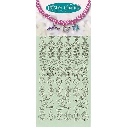 Sticker charms smile Mint