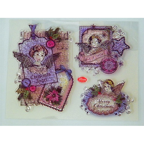 Viva Decor Silicone Stamps - Christmas Angels