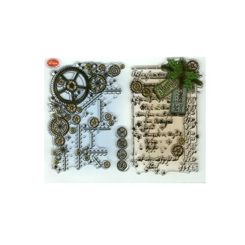 Clear Stamps - Weihnachts SteamPunk
