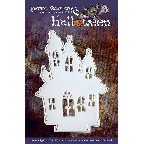 Yvonne Creations - Halloween - Haunted House