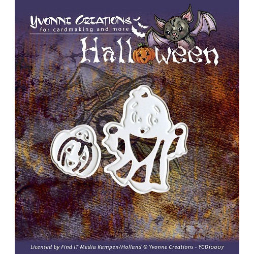 Yvonne Creations - Halloween - Little ghost