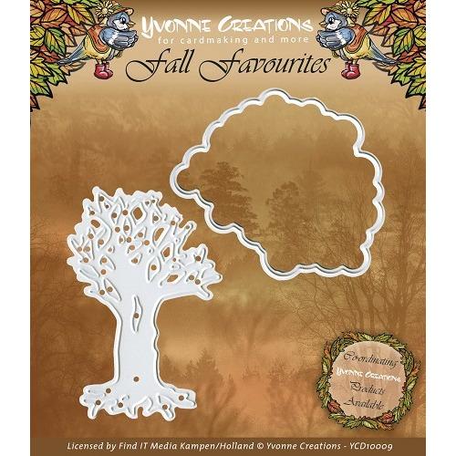 Yvonne Creations - Fall Favourites - Seasonal Tree