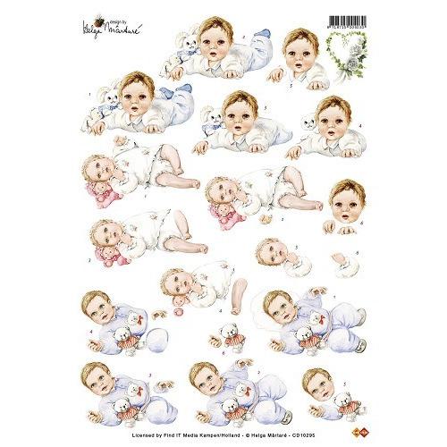 3D Knipvel - Helga Martare - Baby