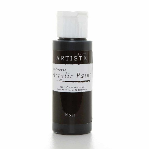 2OZ ACRYLIC PAINT - Noir