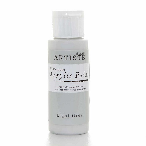 2OZ ACRYLIC PAINT - Light Grey