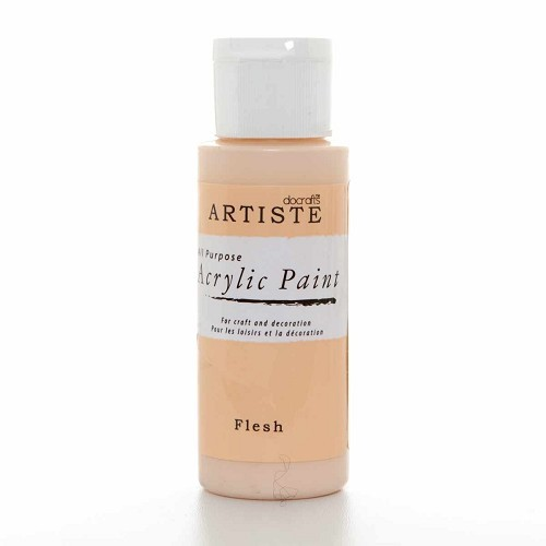 2OZ ACRYLIC PAINT - Flesh