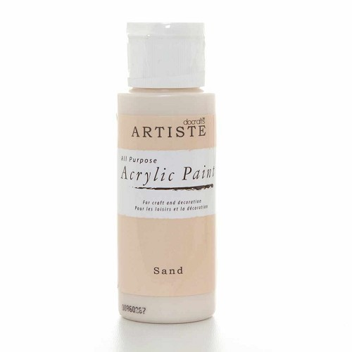 2OZ ACRYLIC PAINT - Sand