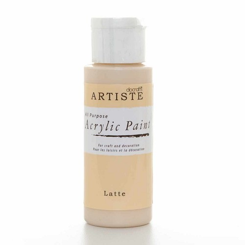 2OZ ACRYLIC PAINT - Latte
