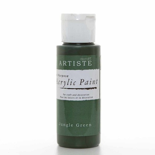 2OZ ACRYLIC PAINT - Jungle Green