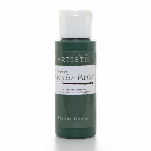 2OZ ACRYLIC PAINT - Forest Green