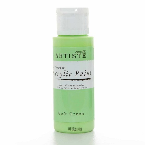 2OZ ACRYLIC PAINT - Soft Green