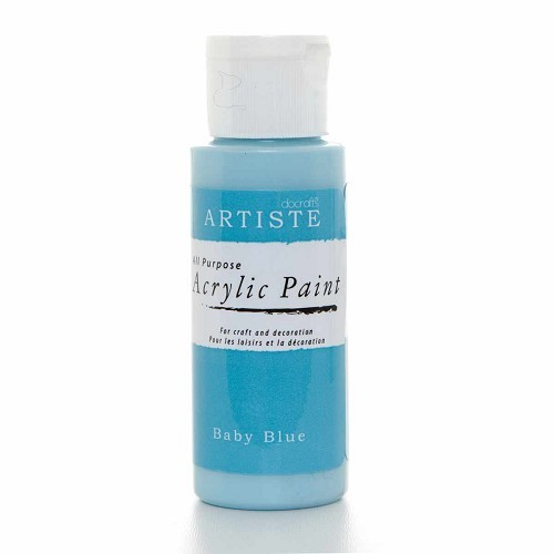 2OZ ACRYLIC PAINT - Baby Blue